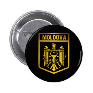 Moldova Emblem 2 Inch Round Button