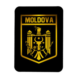 Moldova Emblem Rectangular Photo Magnet