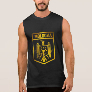 Moldova Emblem Sleeveless Shirt