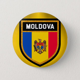 Moldova Flag 2 Inch Round Button