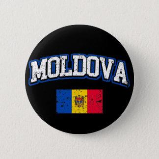 Moldova Flag 2 Inch Round Button