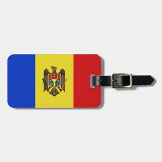 Moldova Flag Bag Tag