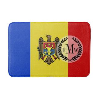 Moldova Flag Bath Mat