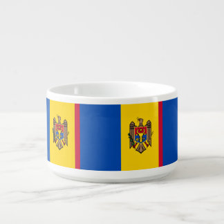 Moldova Flag Bowl