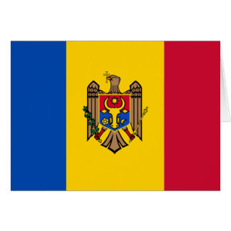 Moldova Flag Card