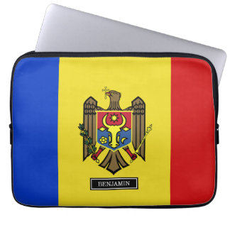 Moldova Flag Computer Sleeves
