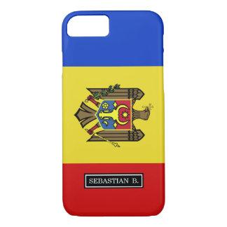 Moldova Flag iPhone 7 Case