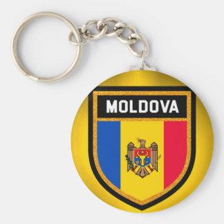 Moldova Flag Keychain
