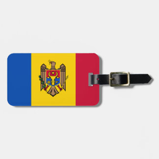 Moldova Flag Luggage Tag