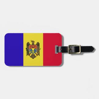 Moldova Flag Luggage Tag