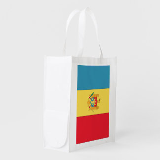 Moldova Flag Market Totes