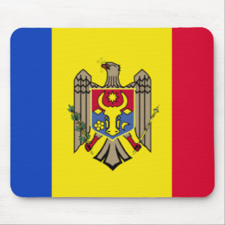 Moldova Flag Mousepad