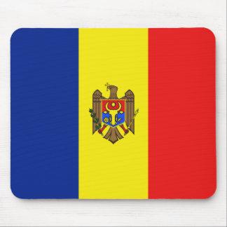 Moldova Flag Mousepad