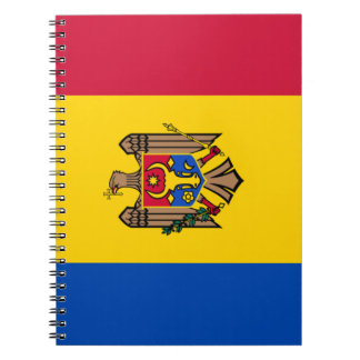 Moldova Flag Notebooks