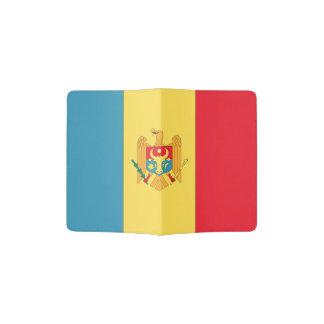 Moldova Flag Passport Holder