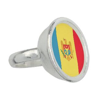 Moldova Flag Ring