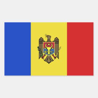 Moldova Flag Sticker