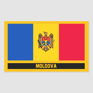 Moldova Flag Sticker