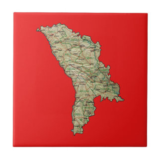 Moldova Map Tile