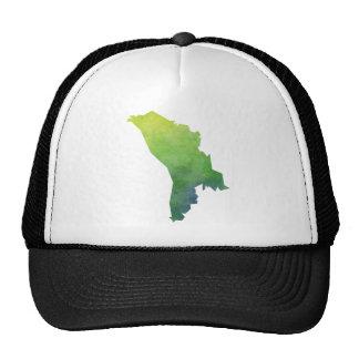 Moldova Map Trucker Hat