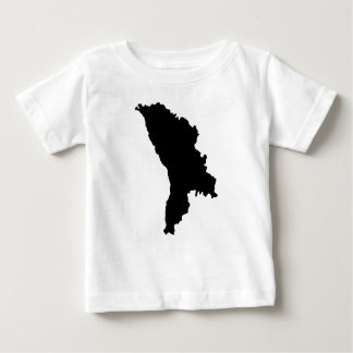 Moldova Silhouette Baby T-Shirt