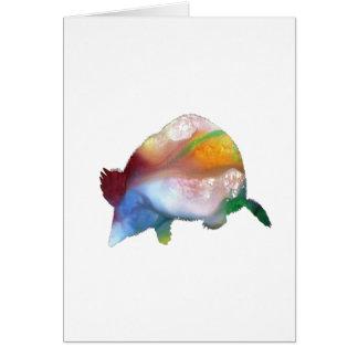 Mole art card