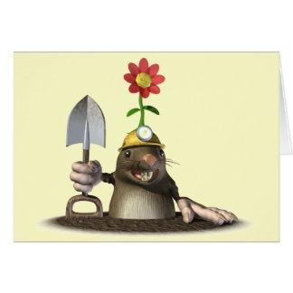 Mole in a Hole Card