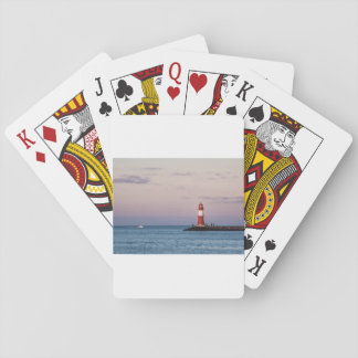 Mole in Warnemuende Playing Cards