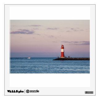 Mole in Warnemuende Wall Decal