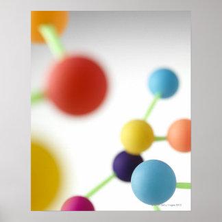Molecular structure. poster