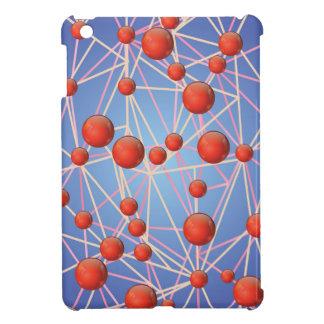 molecular texture iPad mini case