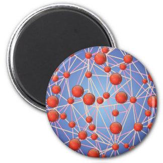 molecular texture magnet