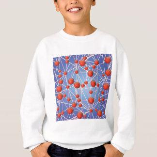 molecular texture sweatshirt