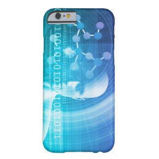 Molecule Background as a Science Abstract Concept Barely There iPhone 6 Case
