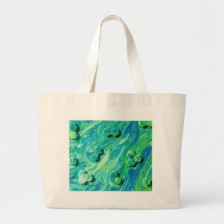 Molecules At Play Large Tote Bag