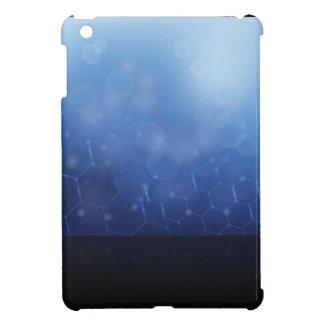 molecules background iPad mini case