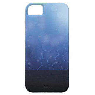 molecules background iPhone 5 case