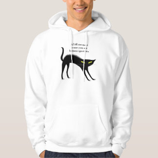 Moletom with pointed hood - same Bad luck is Hoodie