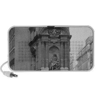 Moliere Fountain, 1844 iPod Speaker