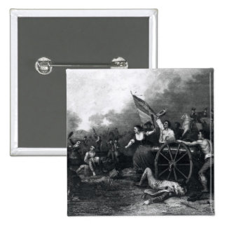 Moll Pitcher at the Battle of Monmouth Pinback Buttons