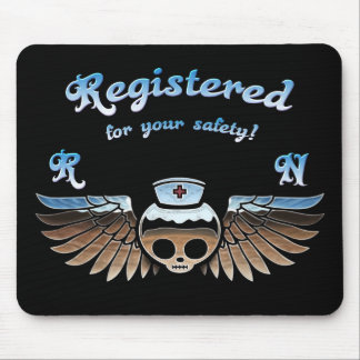 Molly Chrome RN -217 Mouse Pad