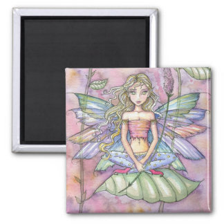 """molly harrison illustrations"" square magnet"