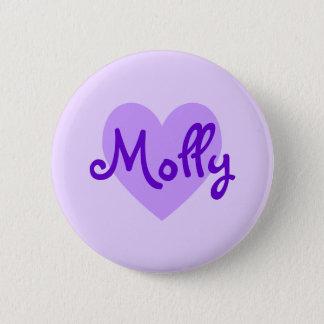 Molly in Purple 2 Inch Round Button