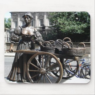 Molly Malone and Wheelbarrow Ireland Mousepad