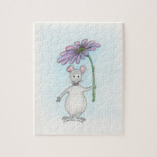 Molly Mouse Flower Puzzle