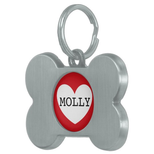 ❤️ MOLLY pet tag by DAL