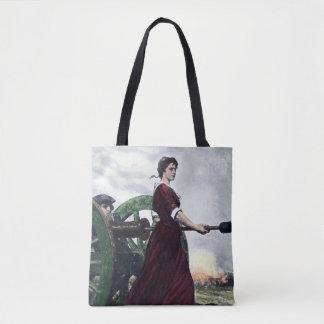 Molly Pitcher - Revolutionary War Patriot Tote Bag