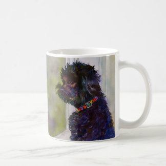 Molly, Watercolor Art Mug