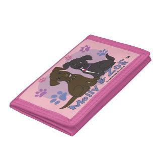 Molly & Zoe Tri-fold Wallets