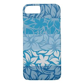 Moloaa Bay Hawaiian Striped Hibiscus iPhone 7 Case